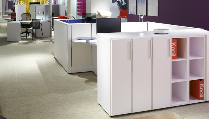 Anchor is available in a focused scope of credenzas, doublewide pedestals and lockers