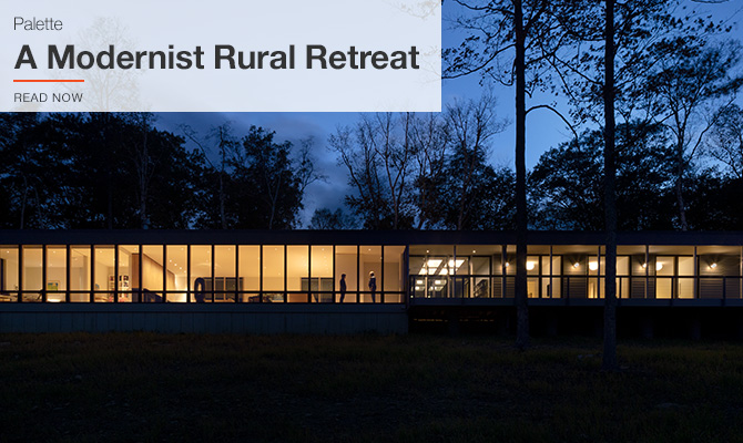 A Modernist Rural Retreat