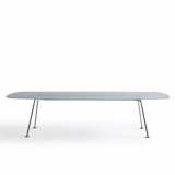 grasshopper high table piero lissoni dining table meeting table glass