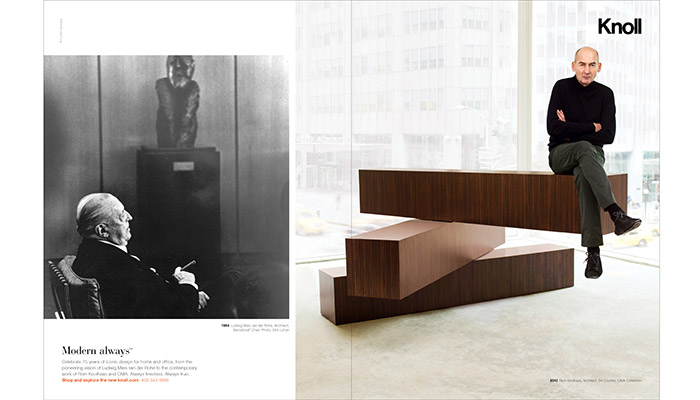 Knoll Debuts Modern Always Advertising Campaign Features