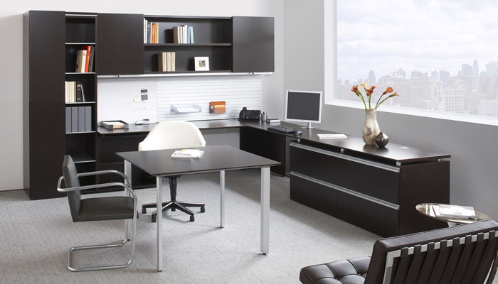 Private offices design and planning knoll for Home office design 10x10