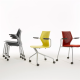MultiGeneration Chairs Side Seating Hybrid Base Stacking Chair