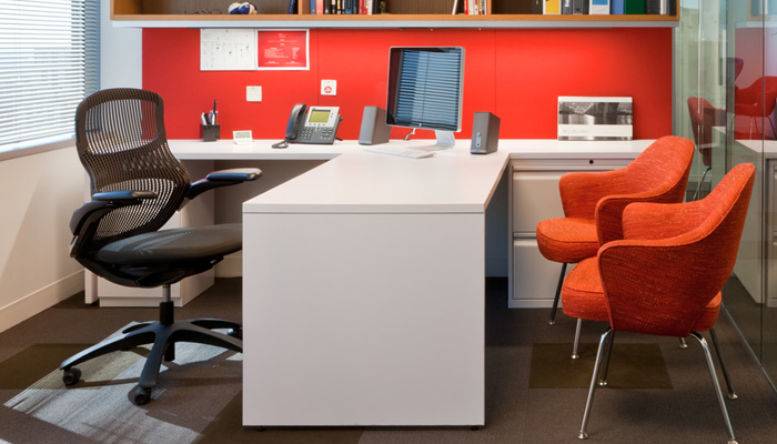 Generation by Knoll® with Saarnen Executive Side Chairs