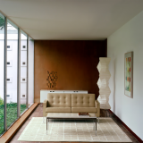 Florence Knoll Credenza, Settee and Coffee Table residential installation