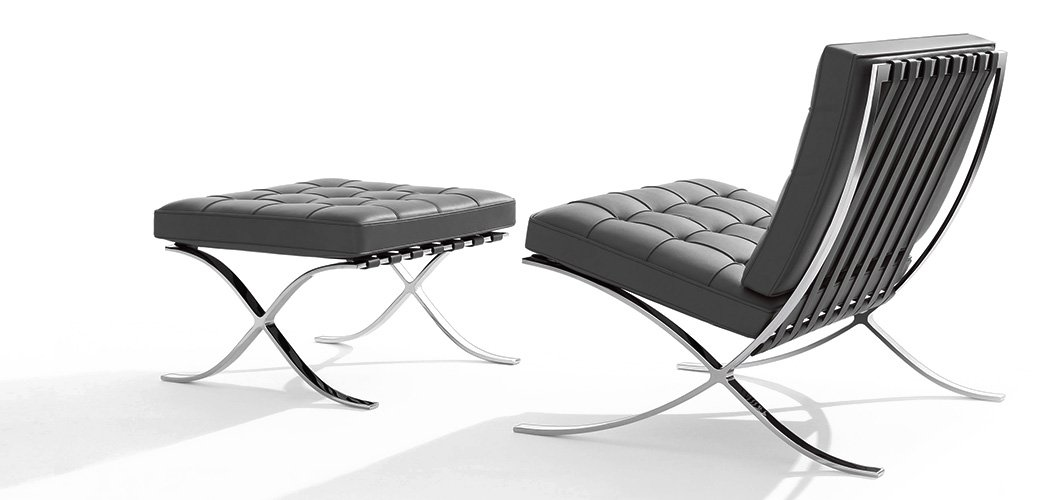 Knoll Mlies Barcelona Chair By Ludwig Mlies Van Der Rohe