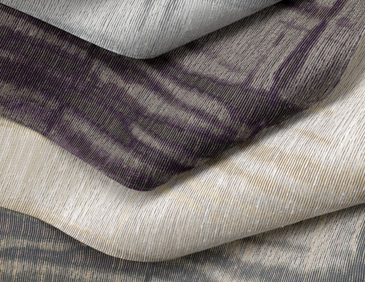 KnollTextiles renaissance collection high performance luxurious hospitality specialty wallcovering Tandem pattern texture large-scale organic paper backing paper backed