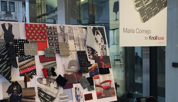 Maria Cornejo Presented New Knoll Luxe Collection at the Knoll ...