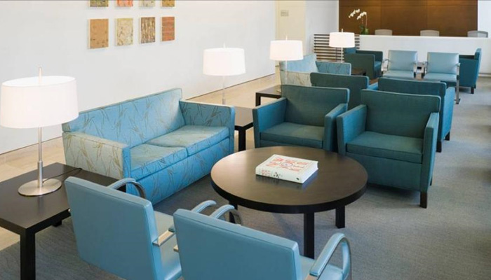 Create welcoming <strong>waiting areas</strong> to put patients and their families at ease
