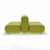 Suzanne Tick green Suzanne Double Lounge chair profile