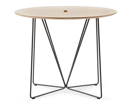Rockwell Unscripted occasional table round top café table