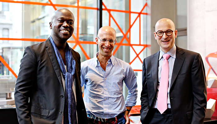 David Adjaye Presents Washington Collection at Knoll Shop