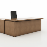 Reff Profiles Private Office height adjustable Desk Return