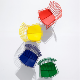 Bertoia Side Chairs Colorful Seamless