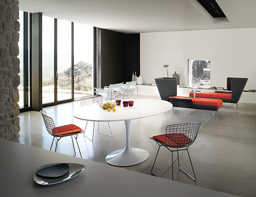 Groovy Saarinen Table Round Knoll Uwap Interior Chair Design Uwaporg