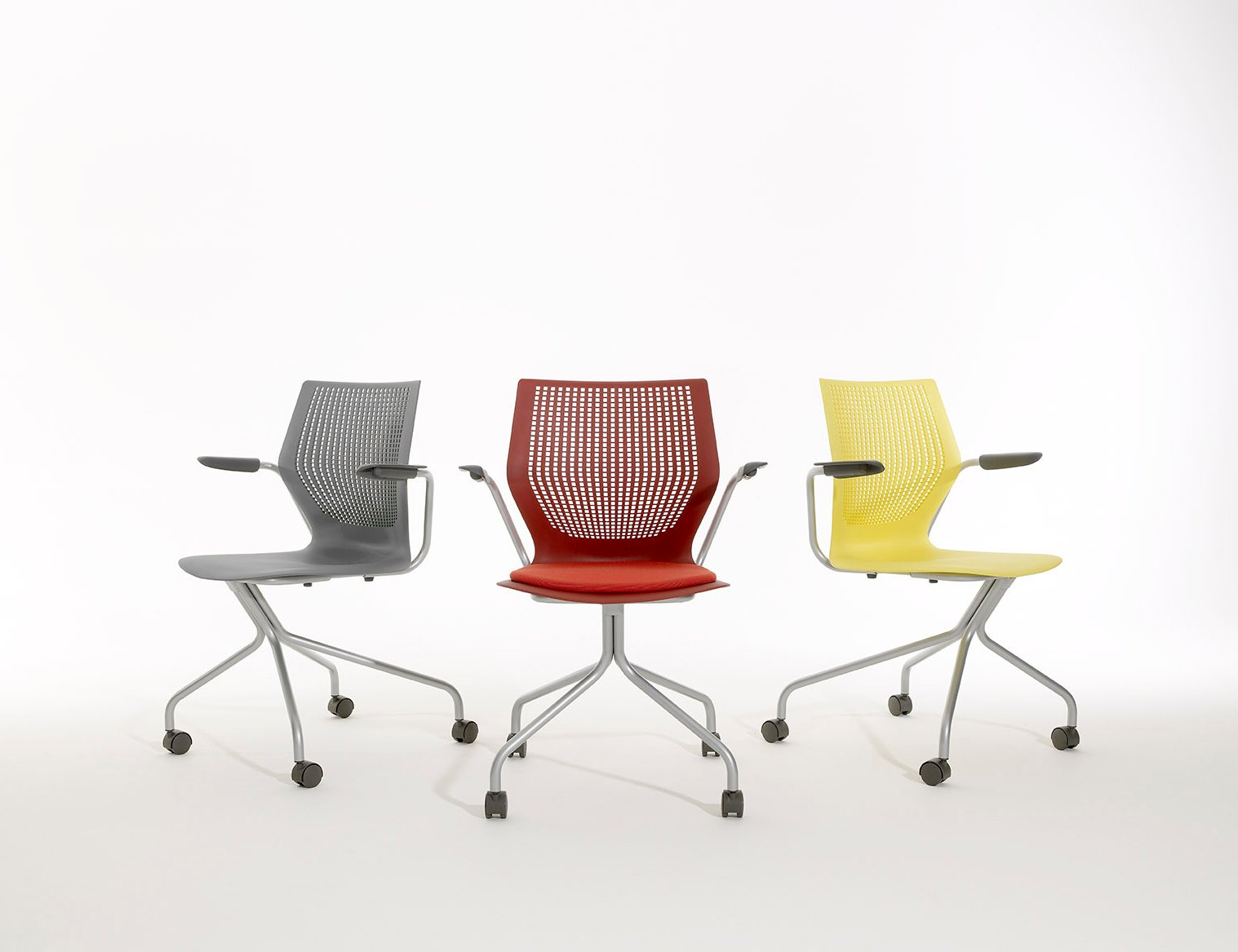 Knoll Multigeneration Chair -  multigeneration chairs side seating hybrid base multigeneration by knoll