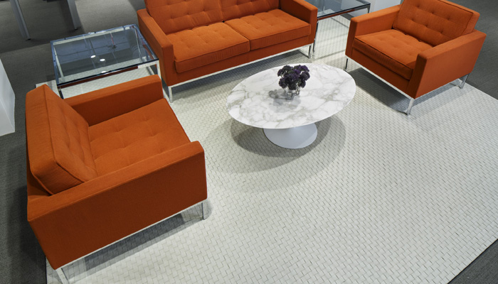 Spinneybeck Woven Leather Rug