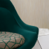 Oh La La and Arrondissement Chair upholstered Grand Boulevard Wallcovering