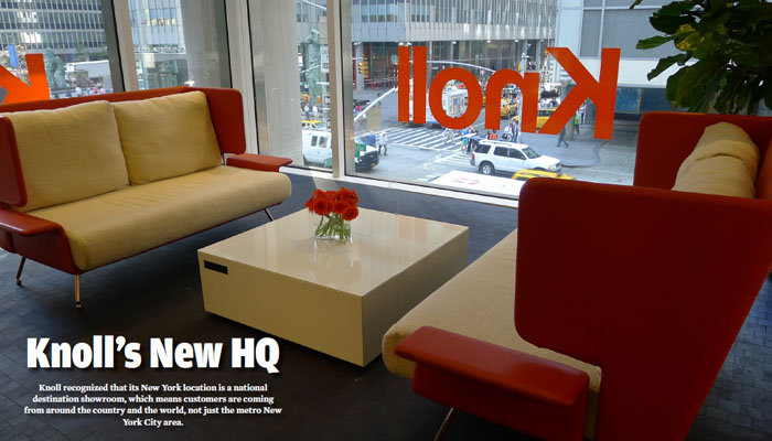 MMQB Visits Knoll NY Showroom