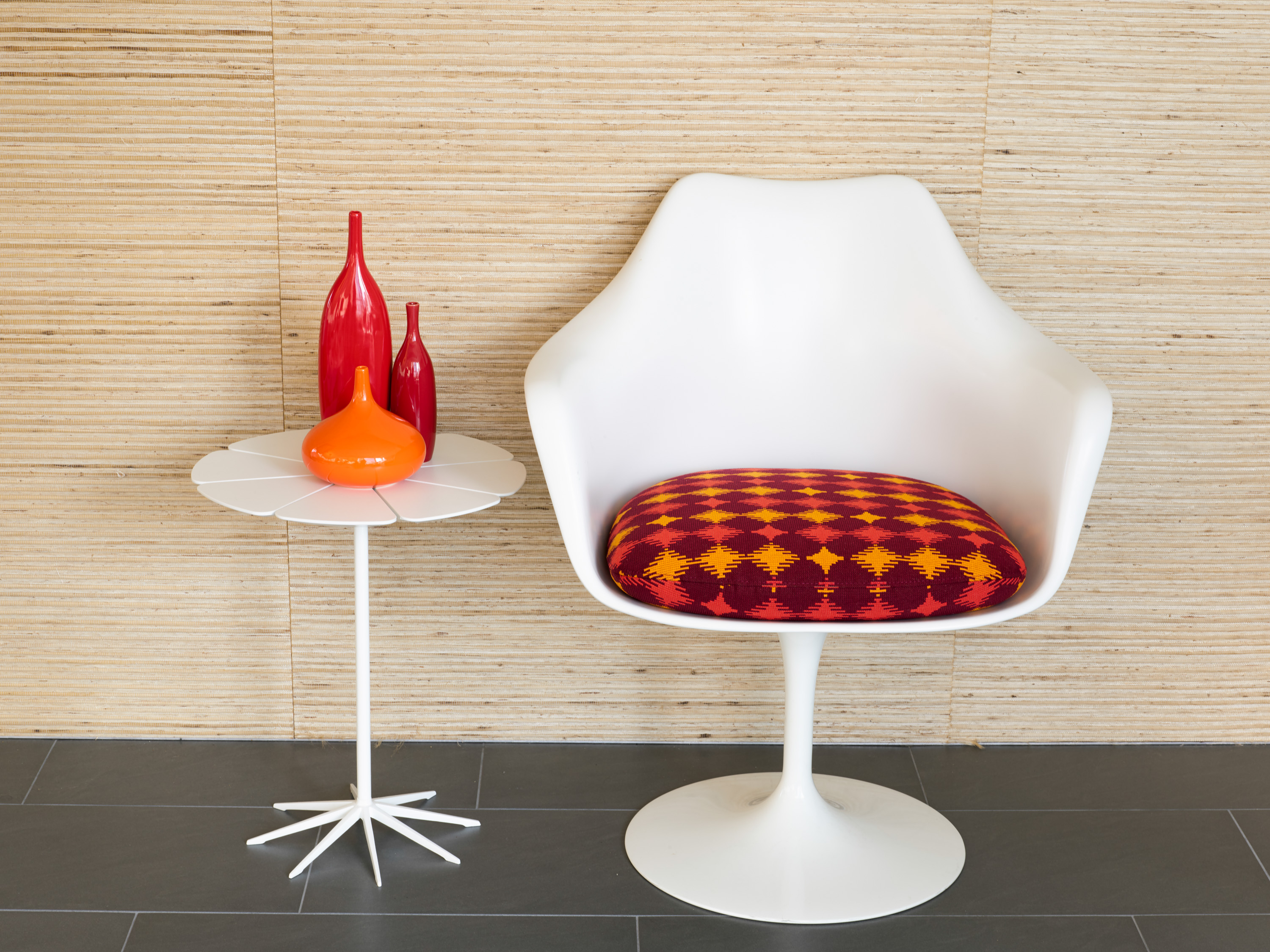 Wit Upholstery On Saarinen Tulip Chair