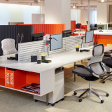 NeoCon 2015 Antenna Workspaces Generation by Knoll Sapper 50 Monitor Arm Fence Antenna storage Sparrow KnollExtra LED lighting Smokador Pepe Cortes Jamaica Barstool Pop Up privacy screen adaptive collaborative open plan ergonomic