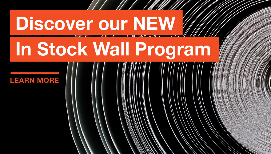 In Stock Wall Program