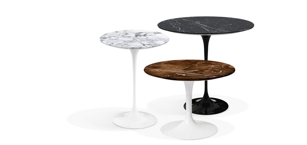 Beau Knoll Saarinen Side Tables By Eero Saarinen