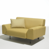 Cini Boeri Lounge Chair and large throw pillow