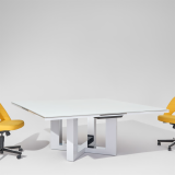 DatesWeiser Highline fifty meeting table saarinen executive arm chair