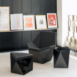 Prism David Adjaye ottoman table club lounge
