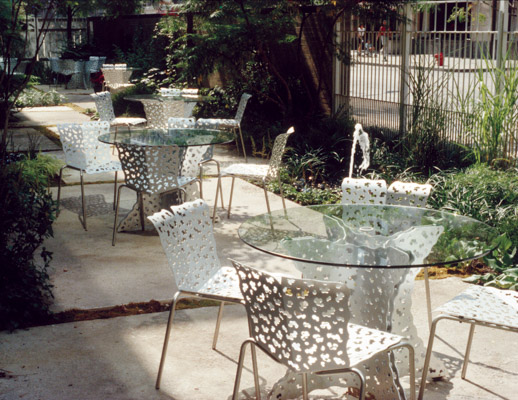 Cafe Collection and Topiary Table
