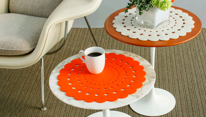 Saarinen 20 Doily Table Mat