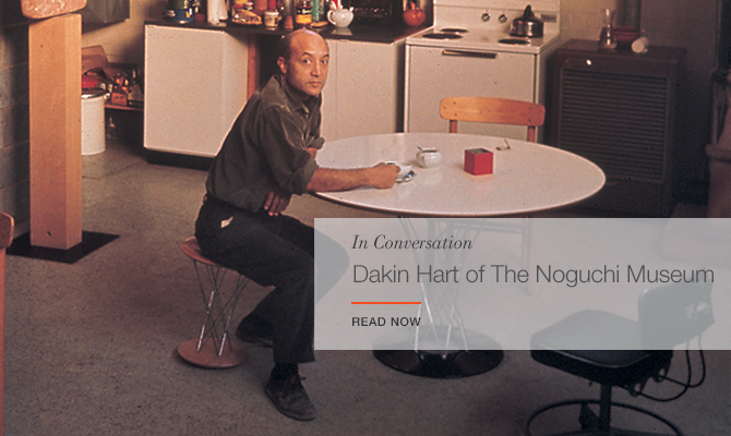 In Conversation with Dakin Hart of The Noguchi Museum