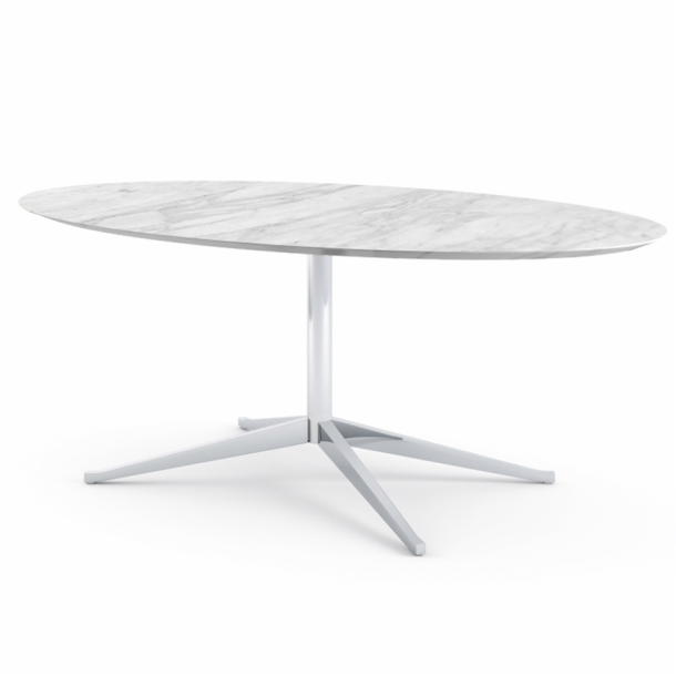 "Florence Knoll<sup>™</sup> Table Desk - 78"" Oval"