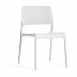 Spark Series chair by Don Chadwick in white