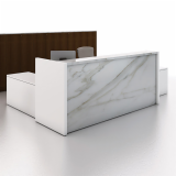 NeoCon 2013 Reff Profiles Reception Desk with Marble