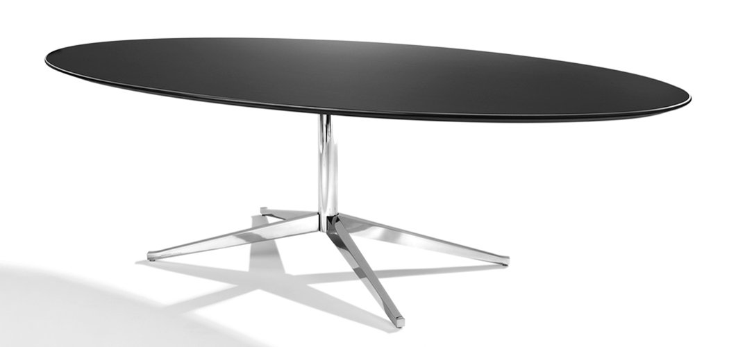 Florence Knoll Table Desk Oval 78 Knoll