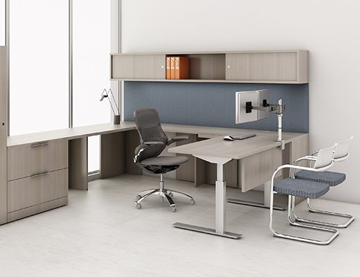 Knoll Sit To Stand Tone Height Adjule Tables With Reff Profiles Private Office