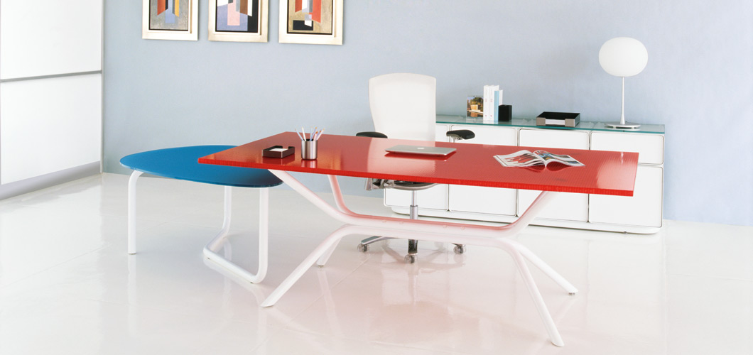 Knoll Lovegrove Table Desk by Ross Lovegrove