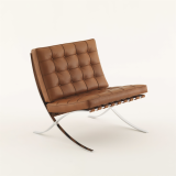 barcelona relaxed chair mies van der rohe