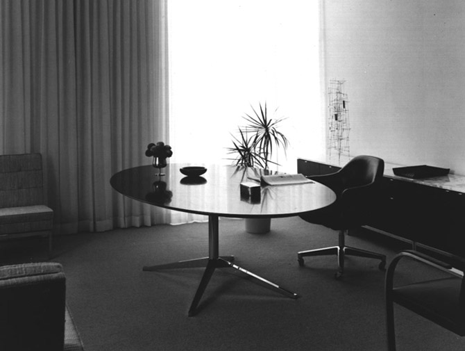 Knoll Florence Executive Table Desk History