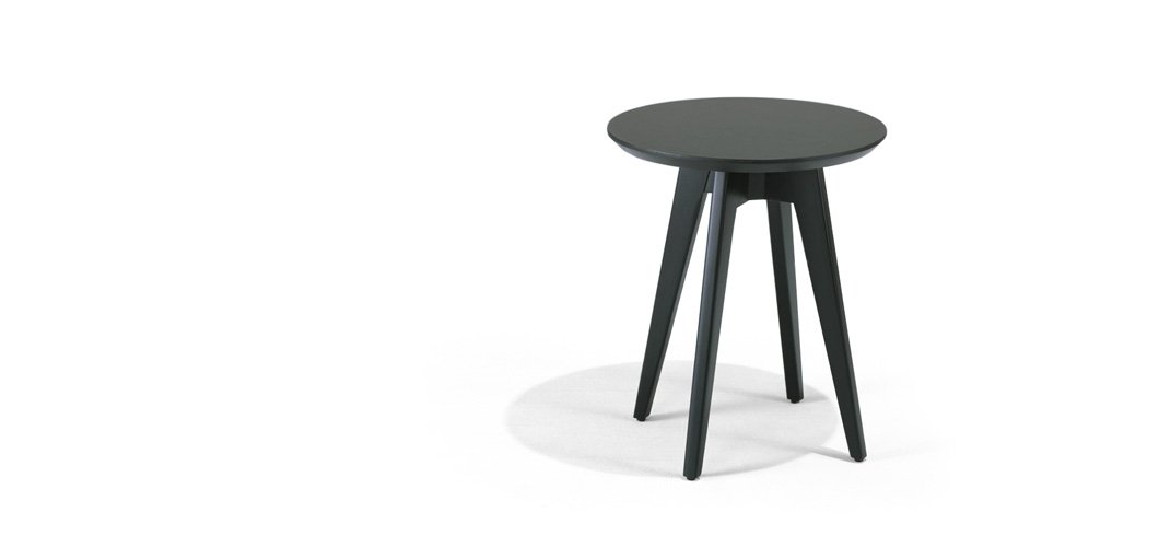 Knoll Risom Side Table Round by Jens Risom