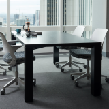 Reff Profiles meeting table 4x4 table Ollo Glen Oliver Loew light task touchdown team meeting enclave shared spaces