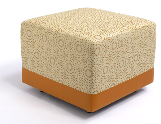 Roundtrip Upholstery on the Stonehenge Ottoman by Martin Brattrud