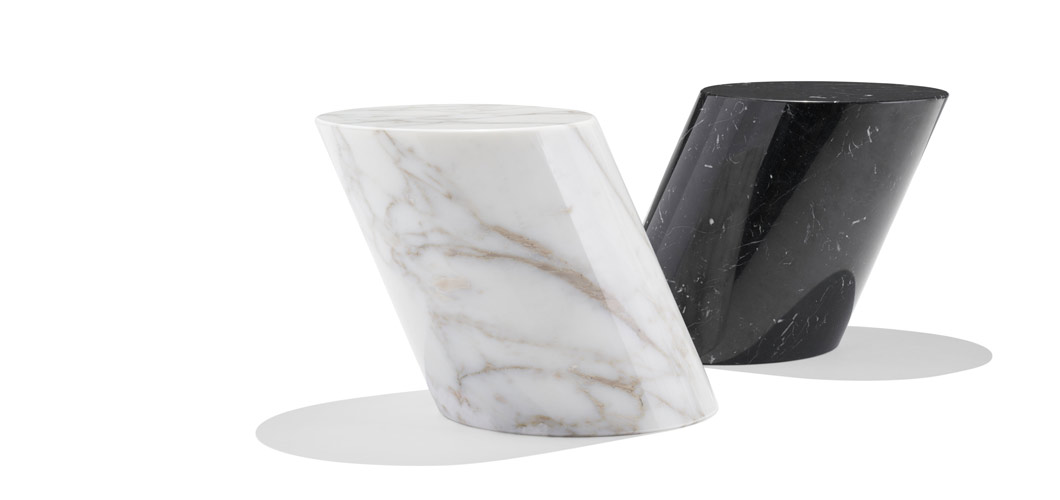 Mercer Table Solid Marble Side Table Knoll