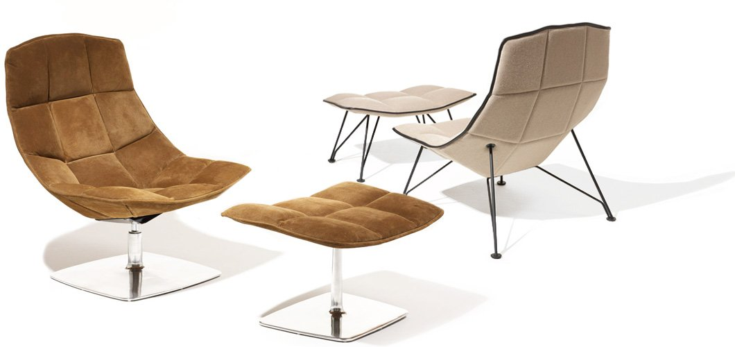 Knoll Jehns and Laub Lounge by Markus Jehs and Jürgen Laub