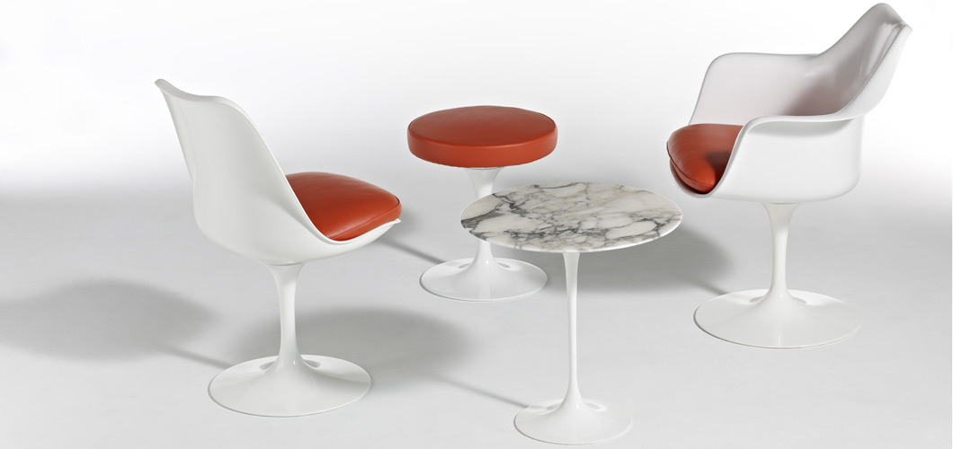 Knoll Saarinen Stools by Eero Saarinen