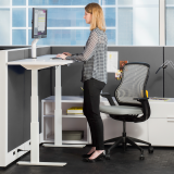Knoll sit to stand Tone Height-Adjustable Table