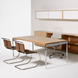 Antenna Workspaces private office with Generation by Knoll seating
