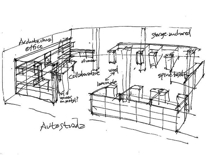 AutoStrada Design Sketches