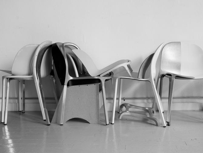 Charmant ... Knoll Olivares Aluminum Chair Archival Image ...